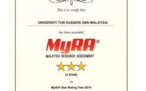 Malaysia Research Assessment (MyRA®) 2014