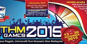 19th UTHM Student Games 2015
