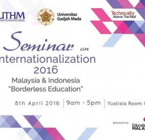 "Seminar ""Malaysia & Indonesia - Borderless Education"""