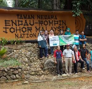 Lawatan Penyelidikan ke Taman Negara Johor, Endau, Rompin