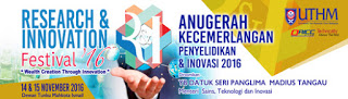 Research and Innovation Festival 2016