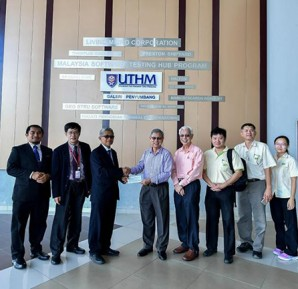 UTHM Received a Donation of RM 50, 000