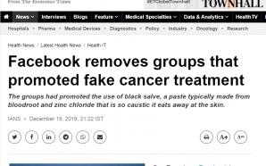 Pesakit kanser: jangan tertipu dengan media sosial
